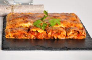 Empanada Lomo y Pisto
