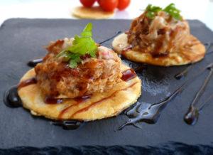 Tortitas saladas de pollo, jamón y ternera de La Abuela Marga